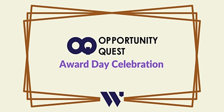 Opportunity Quest Award Day Celebration tickets
