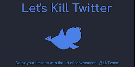 Let's Kill Twitter, chat show with guests Andrew Doyle and Ayesha Hazarika. tickets