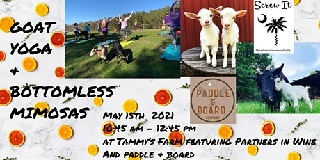 Goat Yoga with Bottomless Mimosas tickets