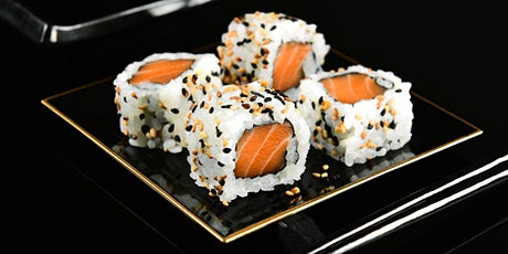 Sushi rolls Beginners hands on cooking class tickets