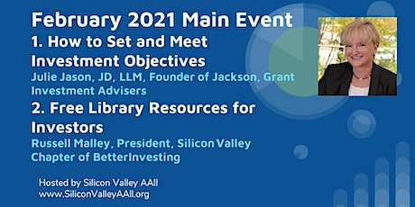 SV-AAII February Main Event: Setting & Meeting Investment Objectives tickets