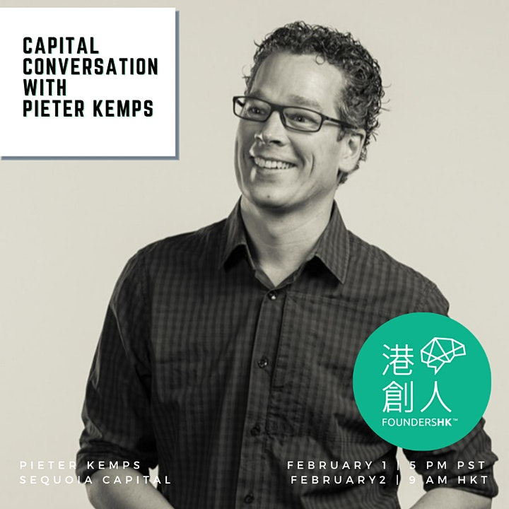 Capital Conversation with Pieter Kemps, Sequoia Capital image