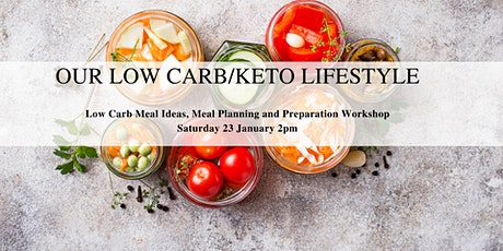 Our Low Carb/Keto Lifestyle tickets