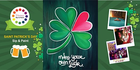 Museica's BYOB Sip & Paint - LUCKY Saint Patrick's Day! tickets