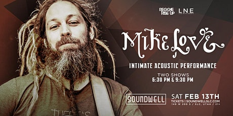 Mike Love - Solo Acoustic [2nd Show - 9:30PM] tickets