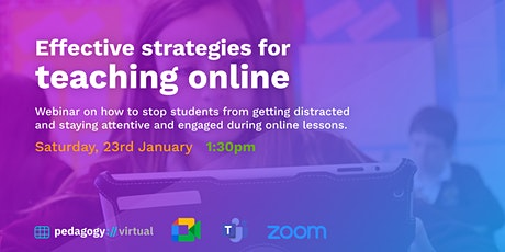How to engage students in an online class? tickets