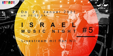 Israel Music Night #5: Ran Nir Tickets