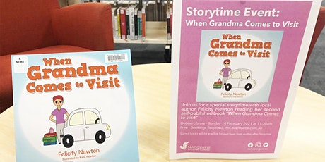 When Grandma Comes to Visit - Macquarie Regional Library tickets