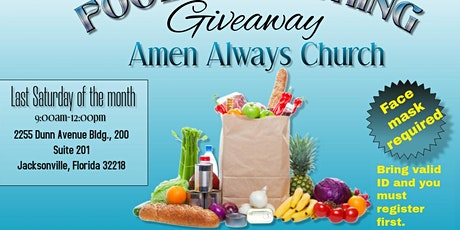Food & Clothing Giveaway tickets