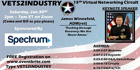 15th VETS2INDUSTRY Virtual Networking Circuit Event tickets