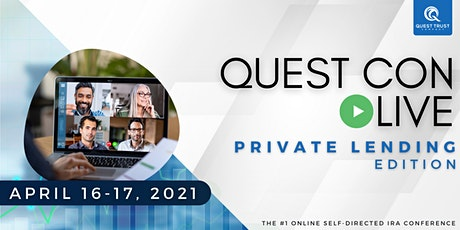 Quest Con Live - Private Lending Edition tickets