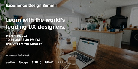 Experience Design Summit 2021 tickets