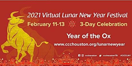 2021 Virtual Lunar New Year Festival tickets