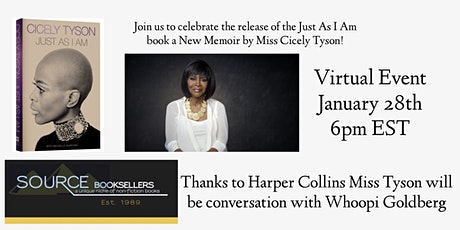 Just As I Am Virtual Event with Cicely Tyson tickets