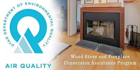 Jan. 21, 2021 Utah County Federal Grant Wood Stove Conversion Application tickets