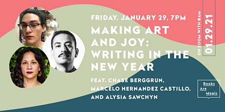 Making Art and Joy: Writing in the New Year tickets