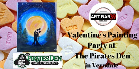 Pirates Den Public Paint and Sip|Verndale MN|Love Is In The Air tickets