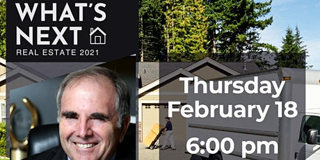 FIBI Pasadena Online | with Bruce Norris | What's Next Real Estate 2021 tickets
