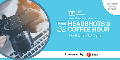 Headshots and Coffee Hour tickets