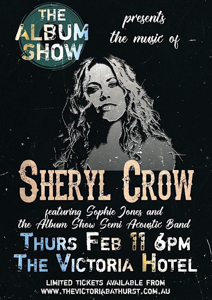 Sheryl Crow - Classic Album Night. SHOW 2: 11/3 (March) image