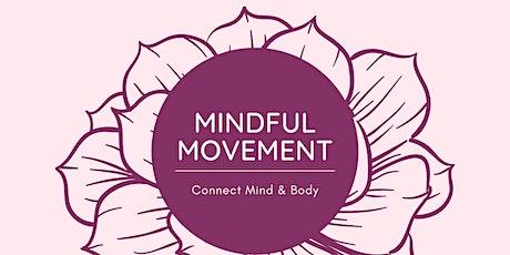 Mindful Movement: Mindfulness, Meditation, & Movement (6-weeks) tickets