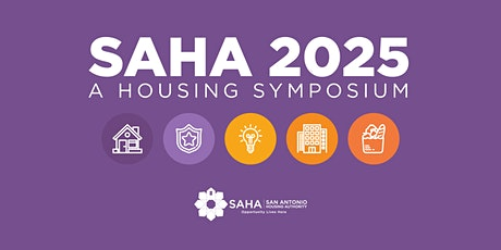 SAHA 2025 Housing Symposium tickets