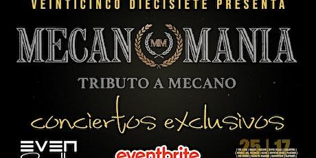 Concierto Exclusivo Tributo a Mecano con Mecanomanía:  Sala Even (Sevilla) entradas