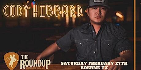 Cody Hibbard tickets