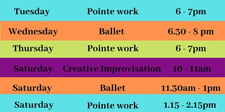 Dance and Movement Classes - January 2021 tickets