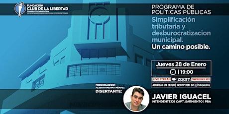 CLUB DE LIBERTAD - SIMPLIFICACIÓN TRIBUTARIA Y DESBUROCRATIZACIÓN MUNICIPAL entradas