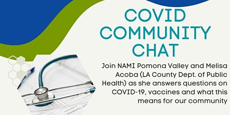 Covid Community Chat tickets