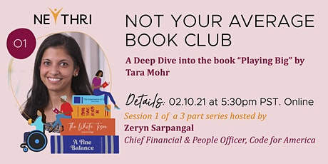 Not Your Average Book Club (Session 1 of a 3 Part Series) tickets