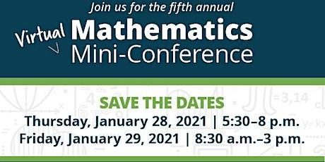 5th Annual Math Mini-Conference tickets