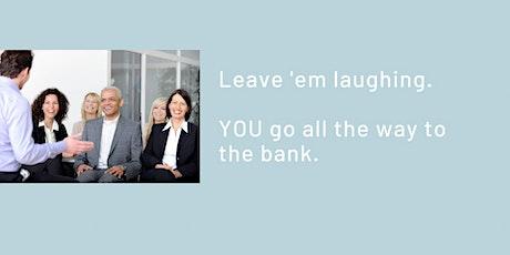 Just Add Jokes: Make Your Speech or Presentation Funnier, Boost Engagement tickets