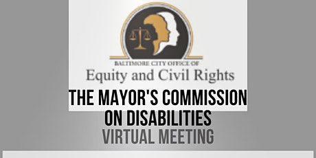 January Mayor's Commission on Disabilities tickets