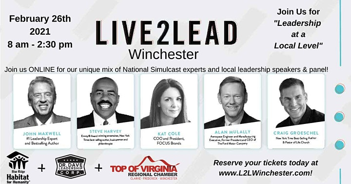 """Live2Lead: Winchester - """"Leadership at a Local Level"""" image"""