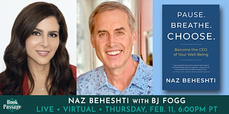 Book Passage Presents: Naz Beheshti with BJ Fogg tickets