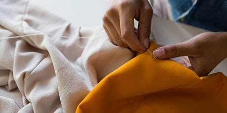Sustainable Fashion - Visible Mending with Stitches tickets