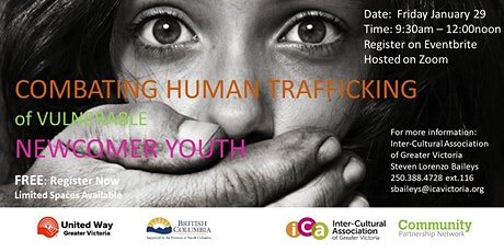 Combating Human Trafficking of Vulnerable Newcomer Youth tickets