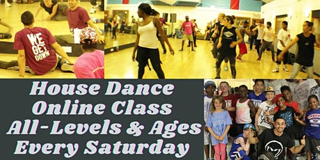 House Dance Online With Hakim Saber Beginner/Intermediate Level tickets