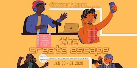 The Create Escape tickets