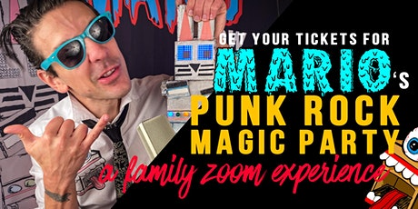 Mario's Virtual Punk Rock Magic Party ingressos
