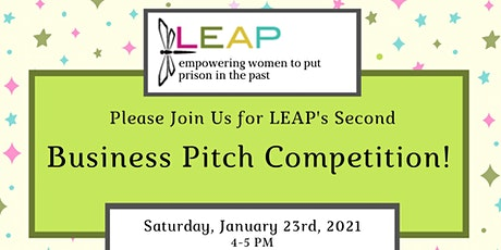 LEAP Business Pitch Competition tickets