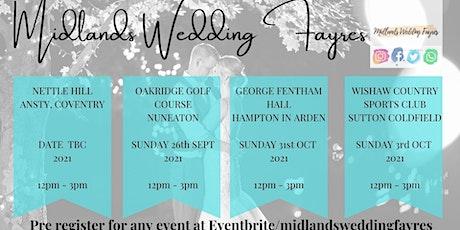 George Fentham Hall Autumn Wedding Fayre tickets