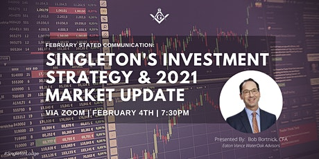 Virtual February Stated Communication: 2021 Financial Investment Strategy tickets