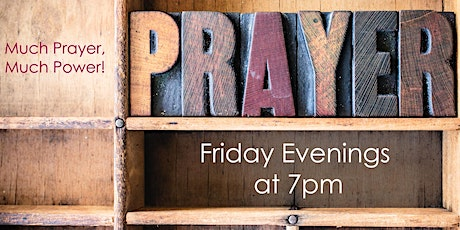 Prayer Service - Friday, January 22 tickets