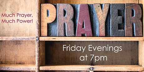 Prayer Service - Friday, January 29 tickets