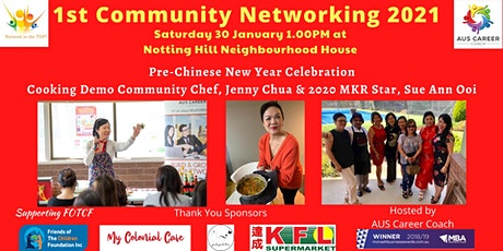 1st Community Networking 2021 tickets