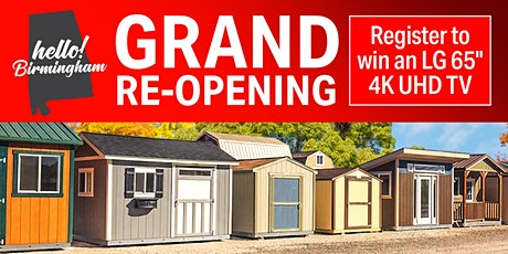 Tuff Shed Grand Re-Opening tickets