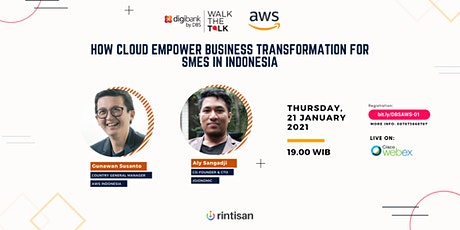 How Cloud Empower Business Transformation for SMEs in Indonesia tickets
